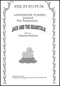 2001 - Jack and the Beanstalk prog