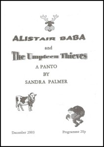 2003 - Alistair Baba prog