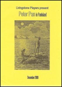 2008 - Peter Pan in Pantoland prog